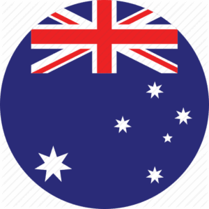 Flag Australia - French courses in Paris, Cannes and online